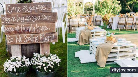 simple diy garden wedding ideas 2 41 best diy ideas for your outdoor wedding