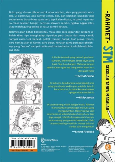 Remaja Tanpa Masalah bukukita stm sekolah tanpa masalah edisi ttd