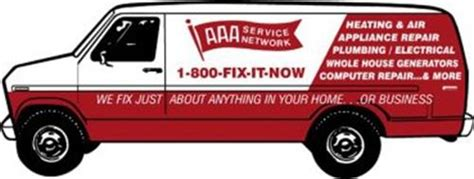 Aaa Plumbing And Electrical by Aaa Service Network 1 800 Fix It Now Heating Air
