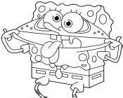 funny spongebob coloring pages coloring pages spongebob friends freecoloring4u com