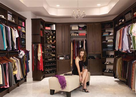 The Closet Trading Company by Custom Walk In Closet Organizers Chocolate Pear