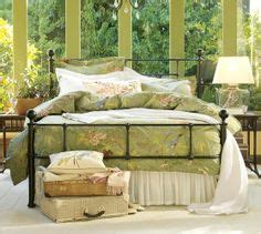 Mendocino Bed Frame Pottery Barn Patchwork And Pottery On