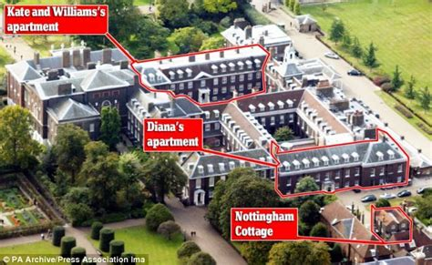 kensington palace apartments your bill to refurbish kate s palace now 163 4million new kitchen nursery and several bathrooms