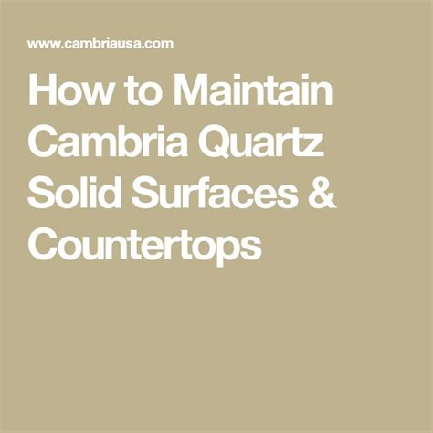 How To Maintain Quartz Countertops by 17 Best Ideas About Solid Surface Countertops On