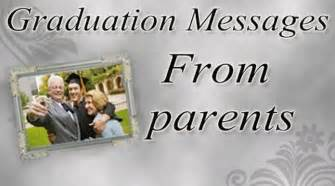 graduation messages from parents parents graduation wishes sle