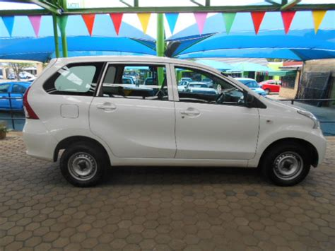 toyota motors for sale 2012 toyota avanza r 119 990 for sale kilokor motors