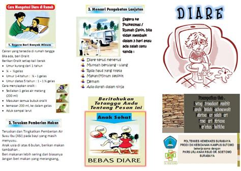 membuat brosur tentang penyakit asma kumpulan materi kebidanan sap dan leaflet diare pada anak