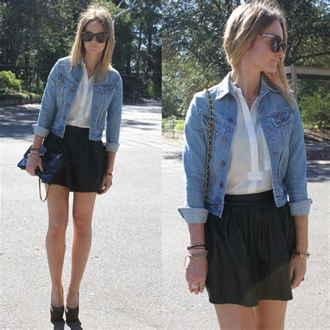 jess rodgers denim jacket asos faux leather skater