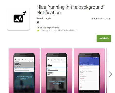 app to play in background android how to remove quot app running in the background quot notification in android