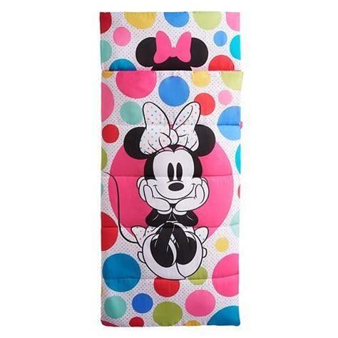 Sleeping Bag With Built In Pillow by Disney Minnie Mouse Sleeping Bag With Built In Pillow Home