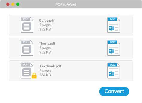 convert pdf to word gratuit en ligne convertisseur pdf gratuit pour mac