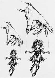 marionette hand puppe temporary tempor 228 re klebe einmal