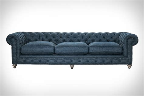 curations limited cigar sofa 118 quot cigar denim sofa from curations limited