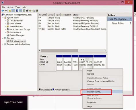 Hardisk Berapa membagi partisi hardisk windows 8 tips trik komputer