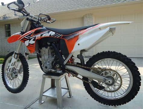 450 motocross bikes for sale 2012 ktm 450 dirt bike for sale on 2040 motos