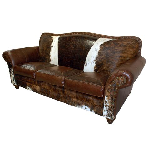 rustic furniture sofa vaquero sofa