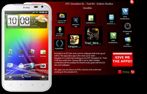 themes for htc sensation xl custom htc sensation xl toolkit htc sensation xl