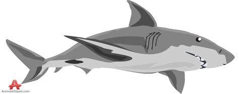 Great White Shark Clip by Shark Clip Images Free Clipart 4 Gclipart