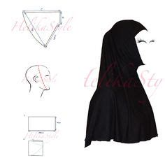 hijab pattern online sewing tutorial of underscarf quot helika quot open this one