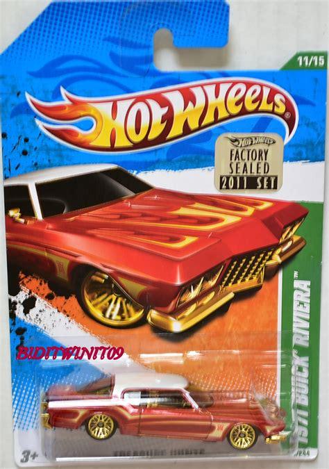 Hotwheels Reguler 8 wheels 2011 regular treasure hunt 1971 buick riviera