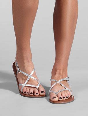 Sakia Sandiego Wedges Sandal Grey i some of you still want jillian s gold strappy flat