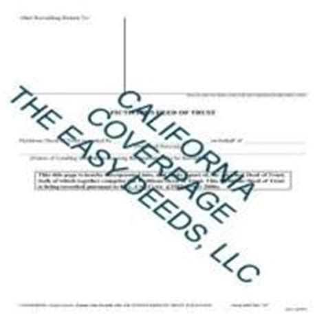riverside county form deed of trust form