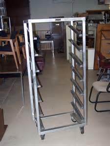 Commercial stainless steel bakers racks