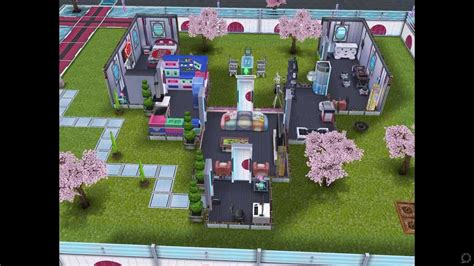 neo house music the sims freeplay neo tokyo house youtube