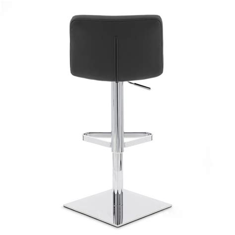 Square Base Bar Stools by Lattice Square Base Adjustable Height Swivel Armless Bar