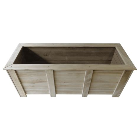 rectangle planter box 1800x600x700 breswa outdoor furniture