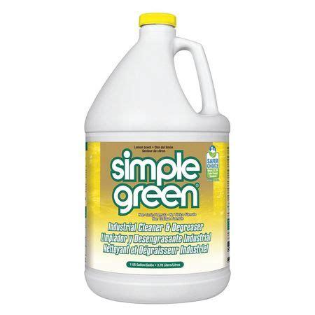 simple green simple green industrial cleanerdegreaser  gal lemon  zorocom