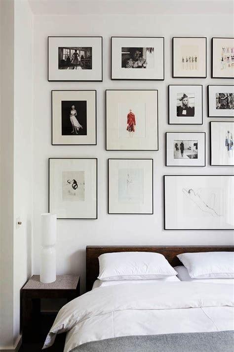 bedroom gallery best 25 bedroom gallery walls ideas on pinterest