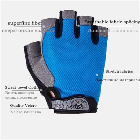 Sarung Tangan Gloves Half Finger Black Sepeda 1 sarung tangan half finger sepeda size m black
