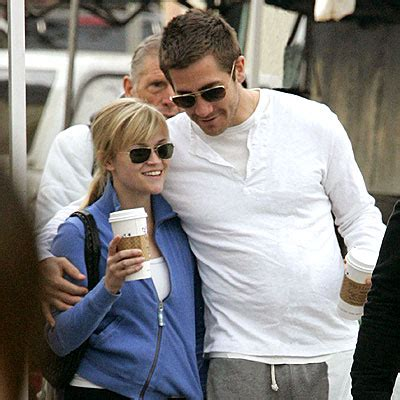 Reese Witherspoon And Jake Gyllenhaal Are Ticking Me 7 by Tracks Thursday March 13 2008 Arm Rest