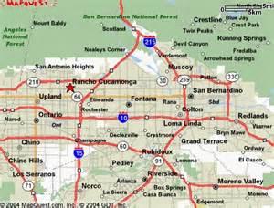 san bernardino city map pictures california map cities