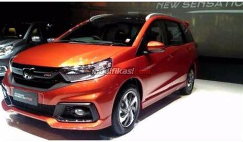Rs Lengkap Mendaki Besar Special 2017 honda mobilio rs cvt facelift jabodetabek orange