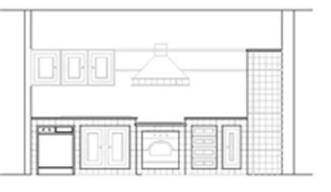 disegni di cucine in muratura cucine 2d disegni di cucine in dwg 1