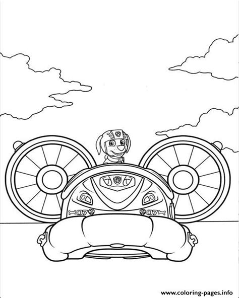 zuma coloring page paw patrol paw patrol zuma pilot a plane coloring pages printable