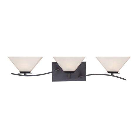 Bronze Bathroom Light Bar by Designers Hyland 3 Light Biscayne Bronze Bath Bar