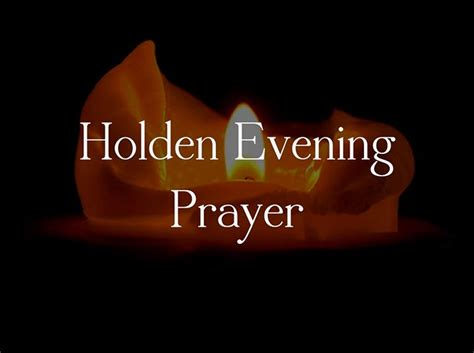 holden prayer service holden evening prayer study holy anglican church