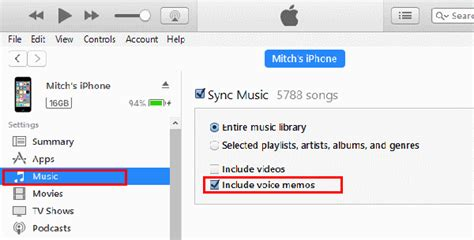 Voice Memos The Iphone Faq by Iphone Or Enable Voice Memo Syncing