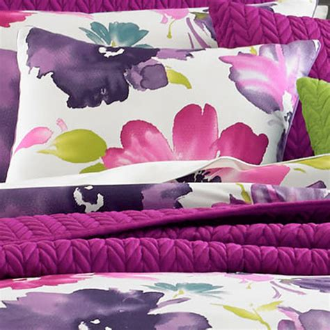 fuchsia comforter midori fuchsia floral comforter bedding from j by j queen