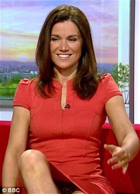 Susanna Reids Pussy - from that crotch flash to leather skirts and cleavage 6
