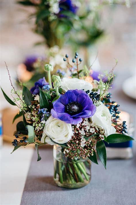 vorhänge weiss mit blumen blaue anemone f 252 r den brautstrau 223 sonja klein
