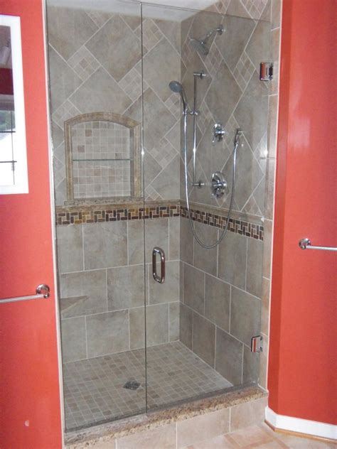 photos of tiled shower stalls photos gallery custom ceramic tile shower photo gallery