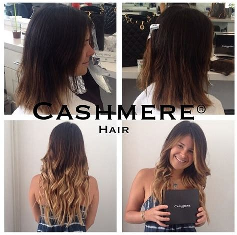 ombre hair extensions sally s hair before afters hair clip in