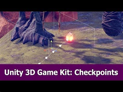 unity  game kit tutorial checkpoints  respawn player
