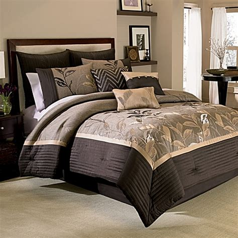 bed bath and beyond bed comforters buy manor hill 174 eden 8 piece queen comforter and sheet set