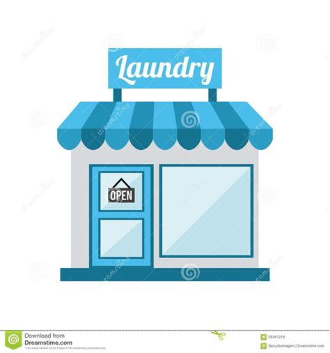 laundry graphic design laundry service stock vector image 59461218