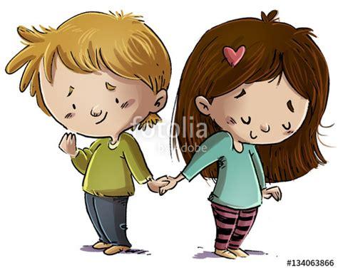 imagenes de niños tristes en caricatura quot ni 241 os enamorados quot immagini e fotografie royalty free su